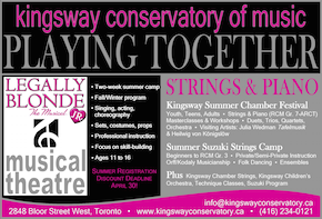 Kingsway conservatory music